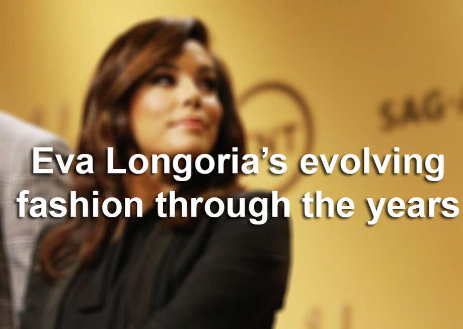 Eva Longoria's fashion through the years. Photo: Michael Tran, Photo Illustration / 2014 Michael Tran