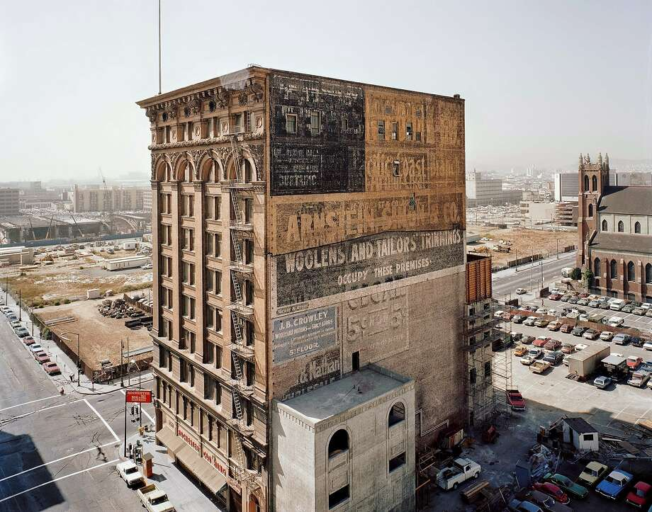 """Mercantile Building, Mission at Third Street"" (1980) Photo: Janet Delaney"