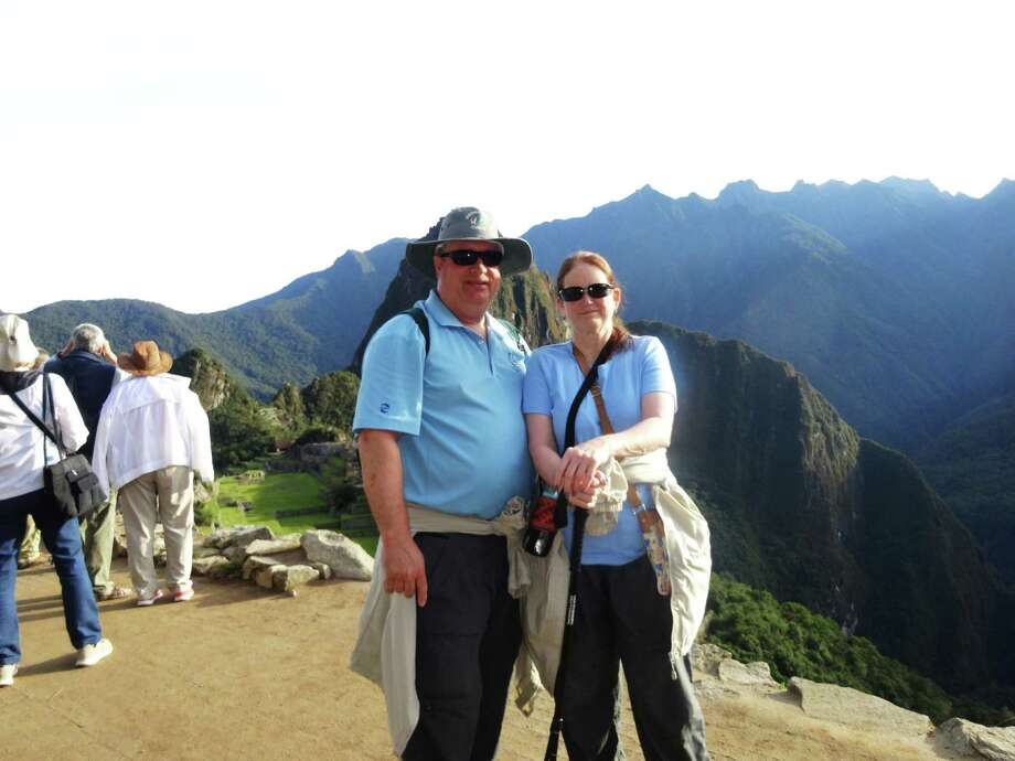Lee and Denise Whitney of Vallejo at Machu Picchu. / ONLINE_YES