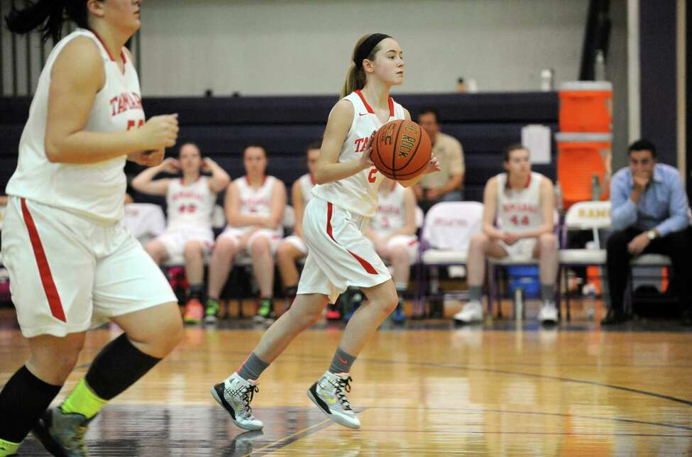 Tamarac eighth-grade guard Emily Erickson during their girl's high school varsity game against Kingston on Saturday Dec. 27, 2014 in Amsterdam, N.Y. (Michael P. Farrell/Times Union)