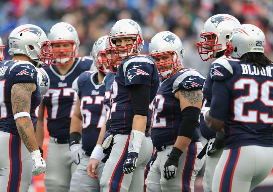 Baltimore (11-6) plus-7 at New England (12-4) Patriots 24-20 Photo: Jim Rogash, Getty Images