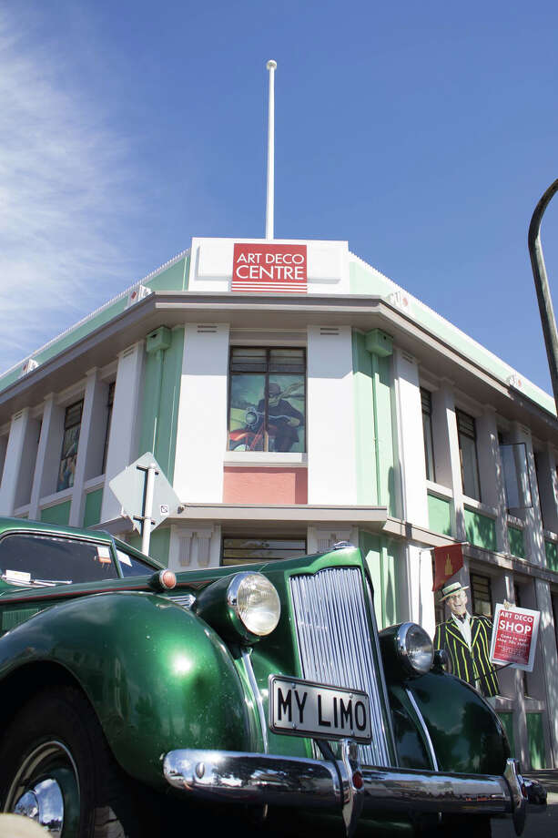 The city center of Napier, New Zealand, was rebuilt in largely Art Deco style following a 1931 earthquake. Photo: Artdeconapier.com / ONLINE_YES