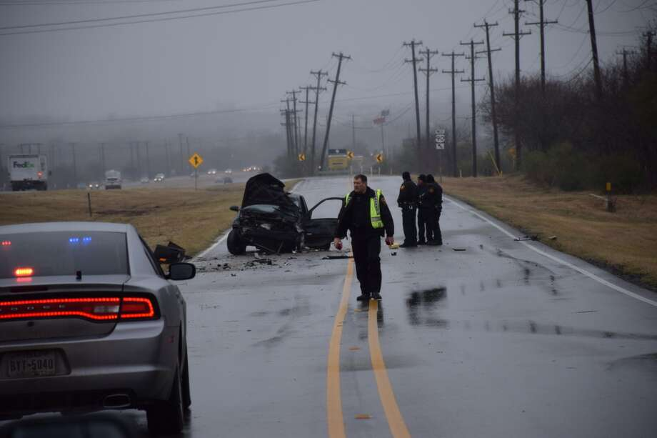 A man died Friday morning after being ejected from a car on the West Side. Bexar County Sheriff's Office spokesman said the man was driving recklessly east on Highway 90 around 9:30 a.m. when he tried to make the exit to Loop 1604. Photo: By Mark D. Wilson/San Antonio Express-News