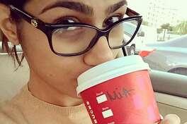 Photos from Mia Khalifa's Instagram page.