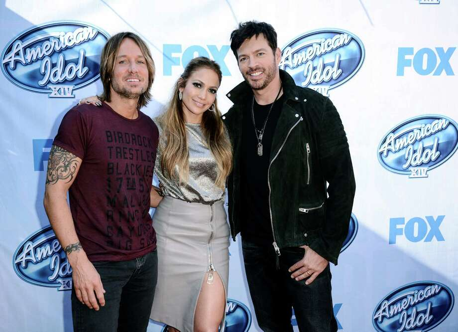 """American Idol"" judges Keith Urban (left), Jennifer Lopez and Harry Connick Jr. are working with new mentor Scott Borchetta, who's known for guiding singer Taylor Swift. Photo: Dan Steinberg / Dan Steinberg / Invision 2014 / Invision"