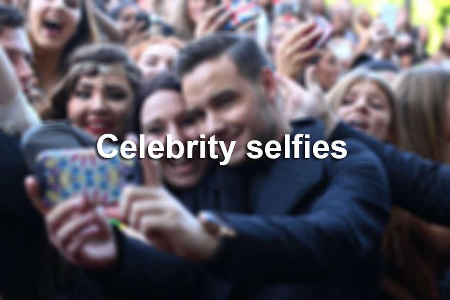 celebrity selfies Photo: San Antonio Express-News
