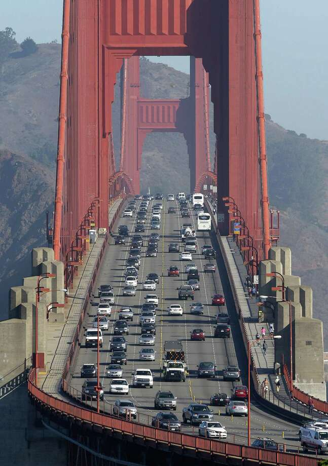 When the weekend ends, the Golden Gate Bridge won't be the same. Photo: Eric Risberg / Associated Press / AP