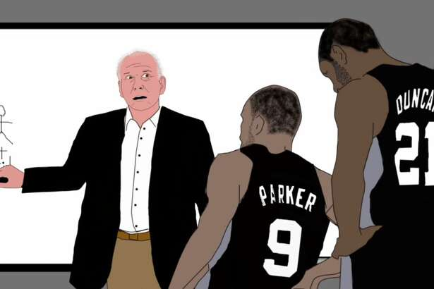 "An animated video created by an economics lecturer in California reimagines the San Antonio Spurs and coach Gregg Popovich as members of a ""crack international commando unit"" that ""survive as soliders of fortune and on their million-dollar salaries."""