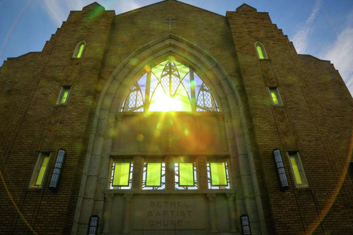 Sun light comes through the windows of Bethel Church Park Jan. 8 in Houston. It is a finalist in the Urban Land Institute's 2015 Development of Distinction Awards.