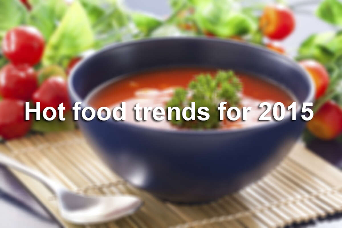 A survey of about 1,300 chefs indicates the rising trends in the food world.