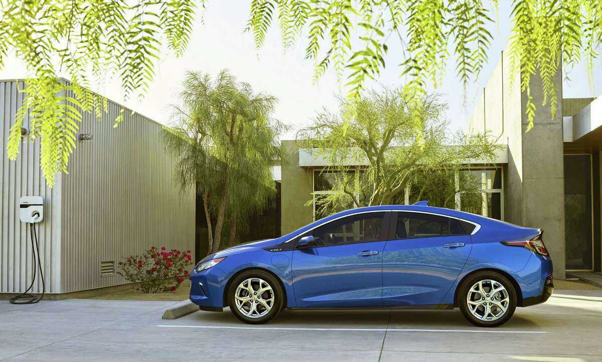 The redesigned Chevy Volt features 30 percent more battery range, a redesigned exterior, and a roomier cabin, particularly in the back seat. The all-new 2016 Chevrolet Volt electric car with extended range, showcasing a sleeker, sportier design that offers 50 miles of EV range, greater efficiency and stronger acceleration.