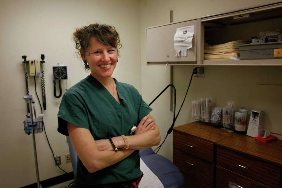 """Dr. Deborah Cohan, Bay Area Perinatal AIDS Center medical director, is the """"dancing doc"""" of Internet fame. Photo: Lea Suzuki / The Chronicle / ONLINE_YES"""
