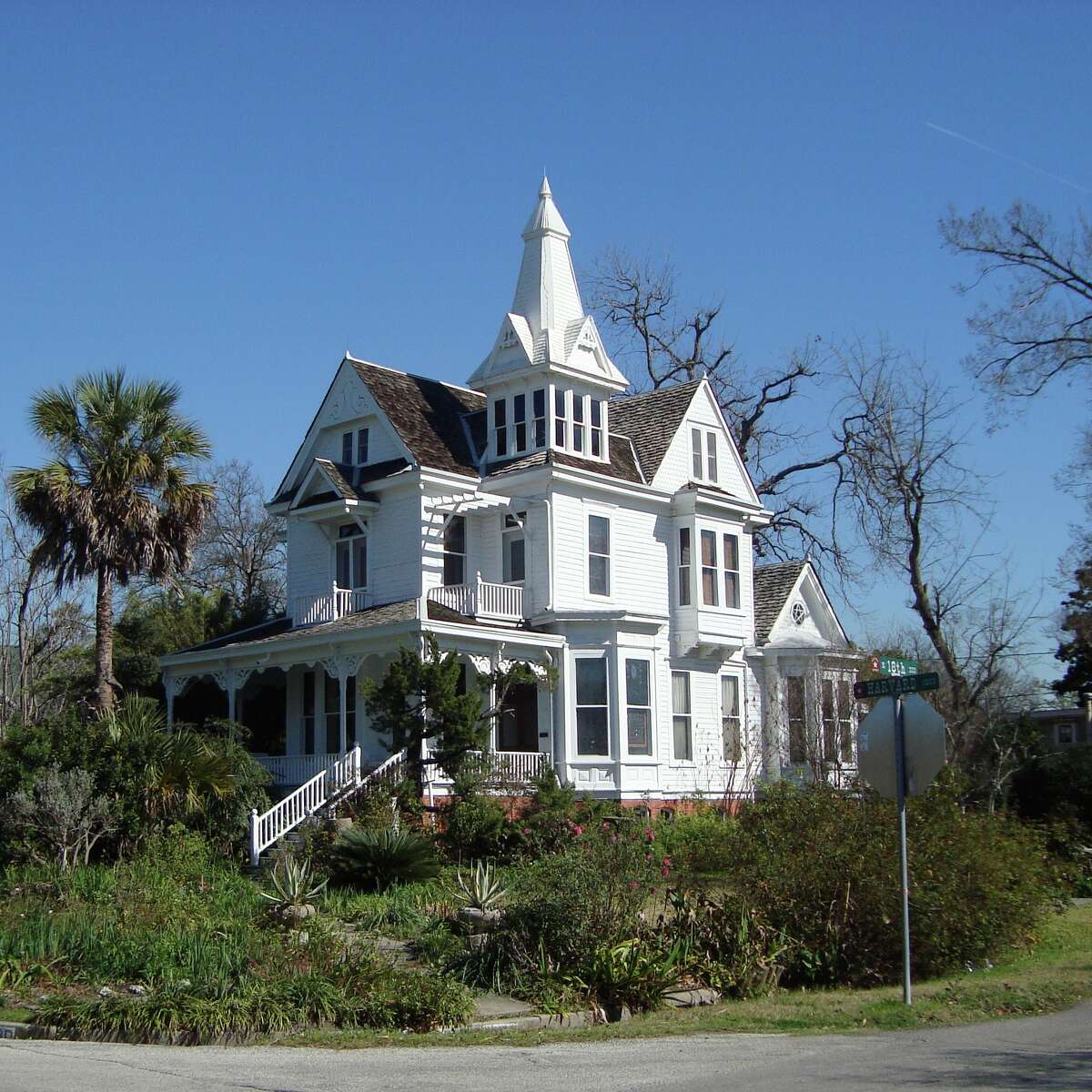 The Mansfield House, built around 1900, is part of the Architecture Center Houston's bicycle tour of the Heights neighborhood.