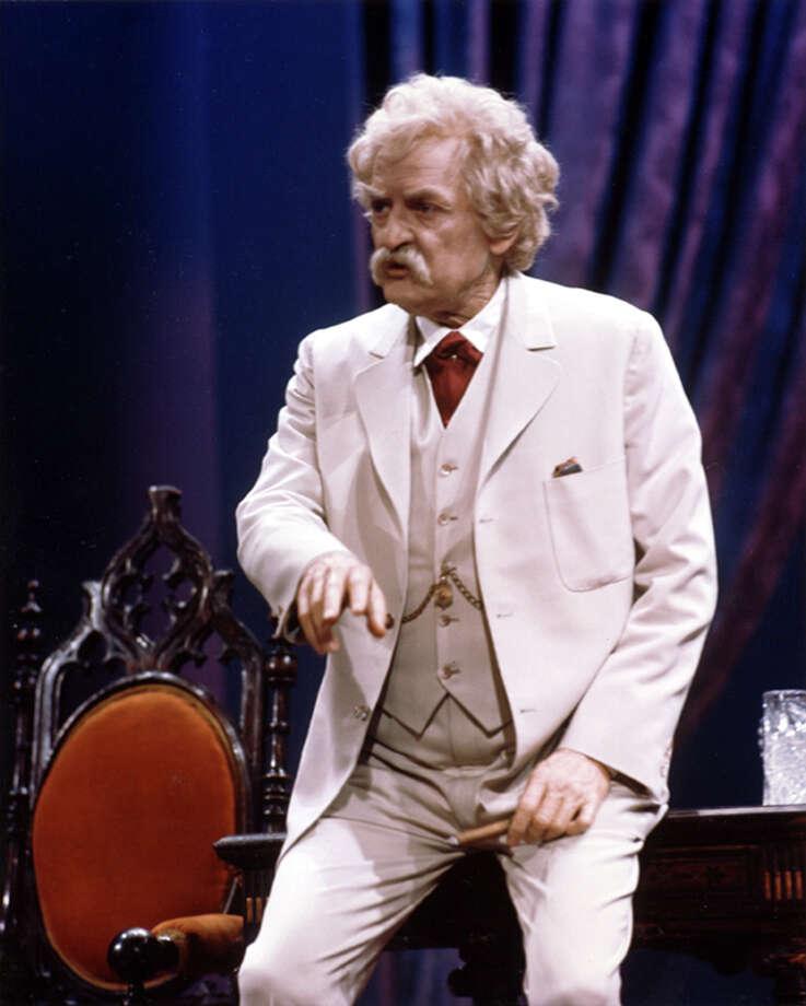 "Hal Holbrook has been performing ""Mark Twain Tonight!'' since 1959. Photo: CHUCK STEWART, HO / BILL EVANS AND ASSOCIATES"