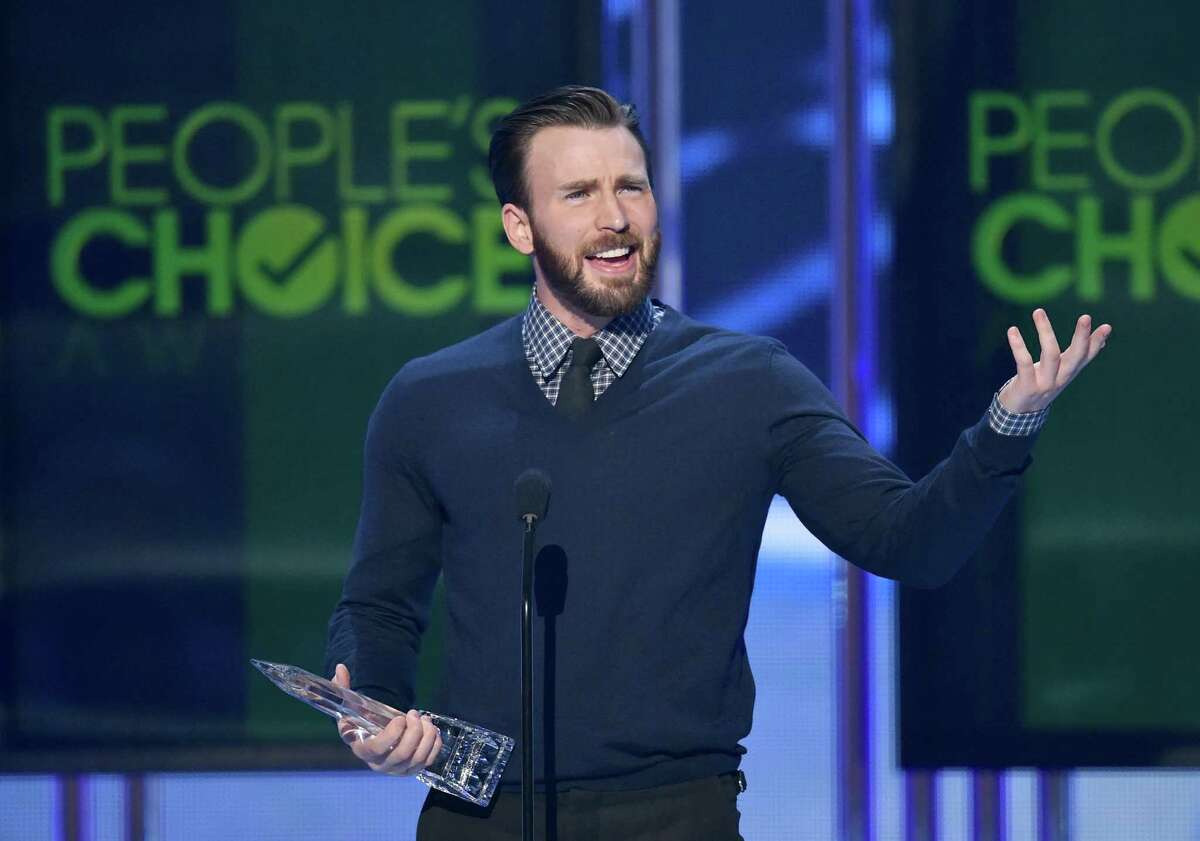 LOS ANGELES, CA - JANUARY 07: Actor Chris Evans speaks onstage at The 41st Annual People's Choice Awards at Nokia Theatre LA Live on January 7, 2015 in Los Angeles, California. (Photo by Kevin Winter/Getty Images)