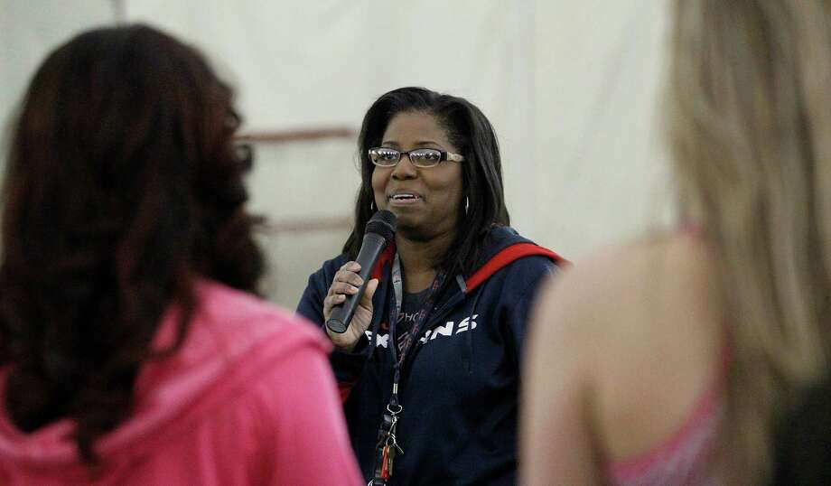 PHOTOS: Houston Texans Cheerleaders claim sexual discriminationFILE - Houston Texans cheerleading coach Alto Gary has resigned as coach of the team amid allegations against the organization of sexual discrimination by several former members. Photo: Karen Warren, Houston Chronicle / © 2014 Houston Chronicle