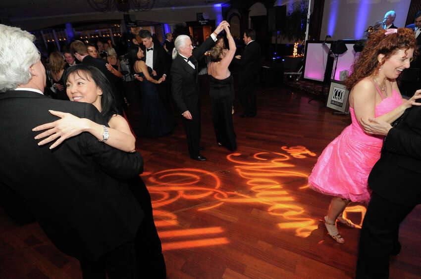 Guests dance at the Mayor's Ball, Saturday January 30, 2010