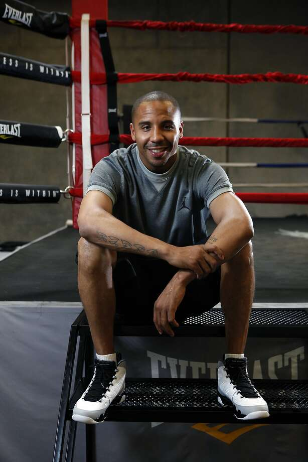 Super middleweight champion Andre Ward poses for a portrait at his private gym in Hayward, CA, Wednesday May 14, 2014. Photo: Michael Short, The Chronicle