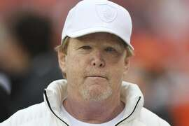 Mark Davis isn't tipping his hand in his coaching search.