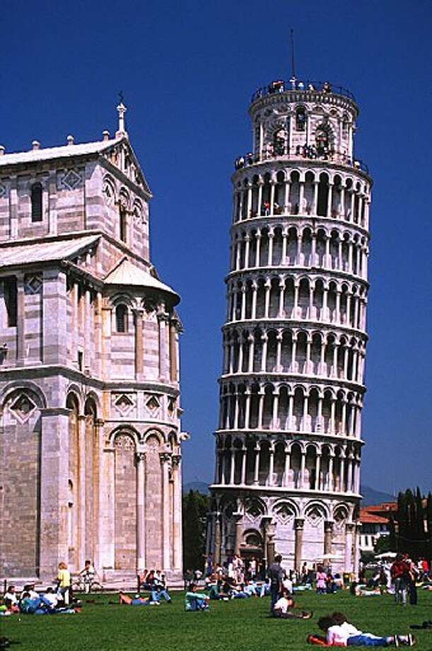 The real thing, in Pisa