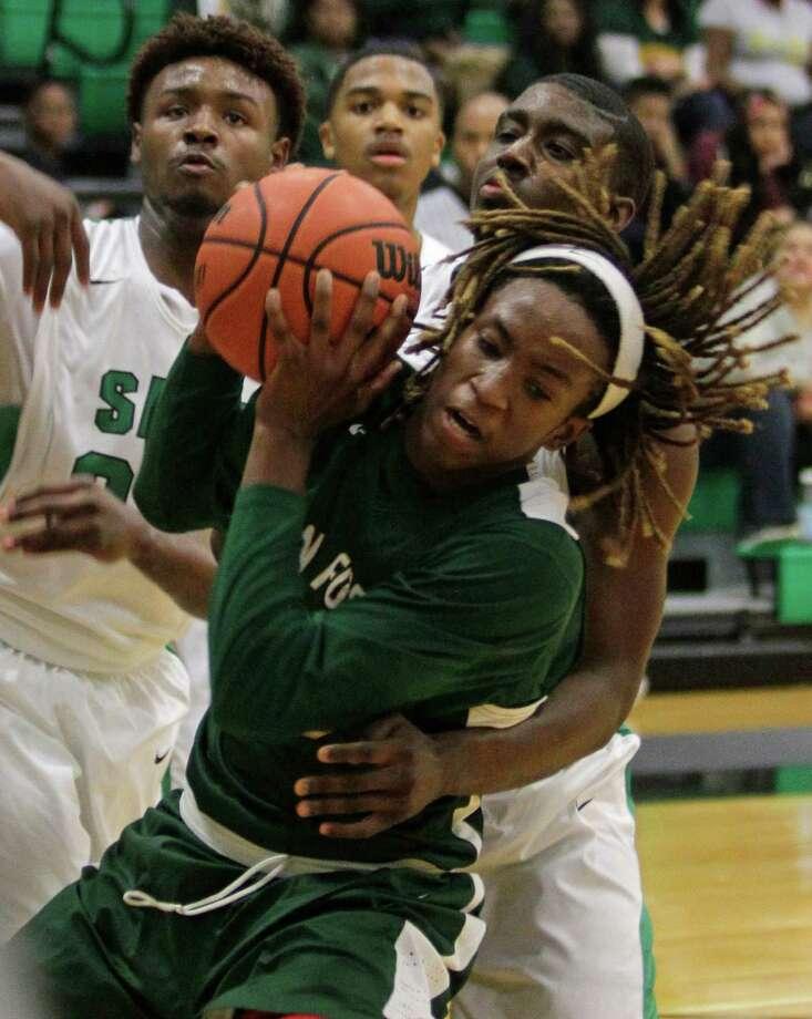 Boys basketball Preseason All-Greater HoustonSecond teamCedric Alley, Sr., G, Klein Forest Photo: Melissa Phillip, Houston Chronicle / © 2014  Houston Chronicle