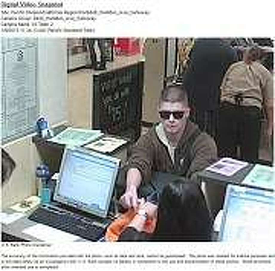 Police are asking for the public's help to identify a bank robbery suspect who hit a U.S. Bank inside a Safeway in San Jose. Photo: Courtesy / San Jose Police Department / ONLINE_YES