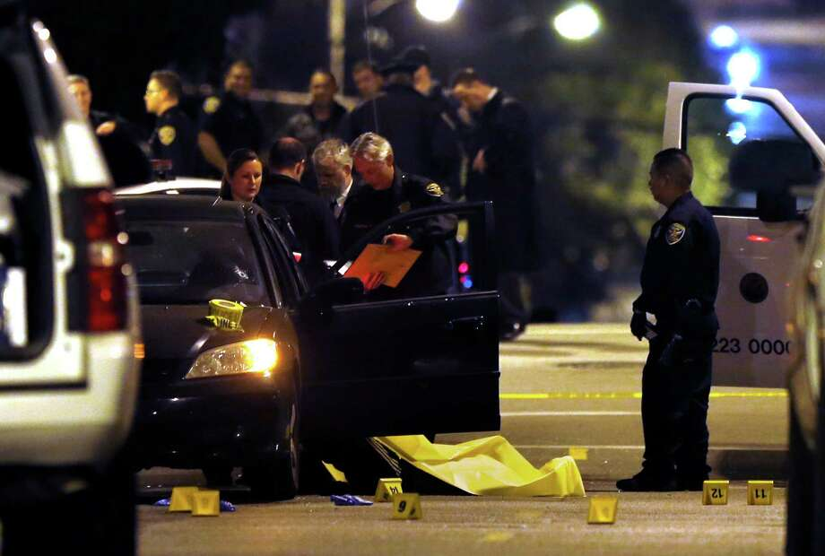 A 55-year-old Burlingame resident was shocked to learn his Honda Civic that was stolen Dec. 23, was the car in which four men were shot to death in Hayes Valley in San Francisco, Calif. on Friday, January 9, 2015. Photo: Scott Strazzante / The Chronicle / ONLINE_YES