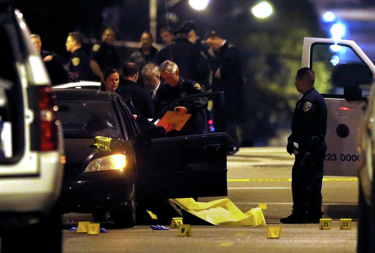 A 55-year-old Burlingame resident was shocked to learn his Honda Civic that was stolen Dec. 23, was the car in which four men were shot to death in Hayes Valley in San Francisco, Calif. on Friday, January 9, 2015.
