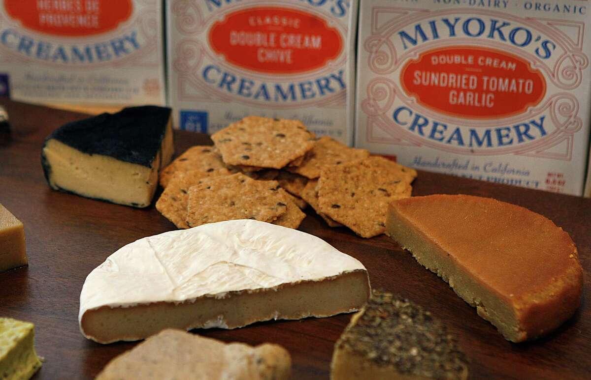 Miyoko Schinner makes artisanal vegan cheese from cultured nuts and nut milks.