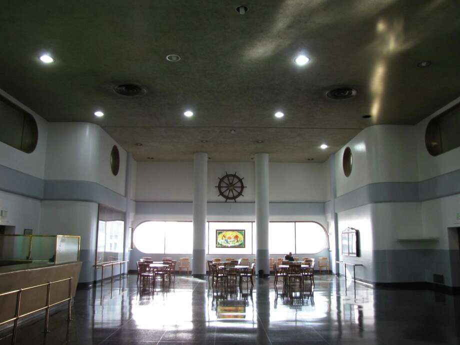 The hiring hall of the Sailors' Union on Rincon Hill on a quiet January morning. Photo: John King / John King / ONLINE_YES