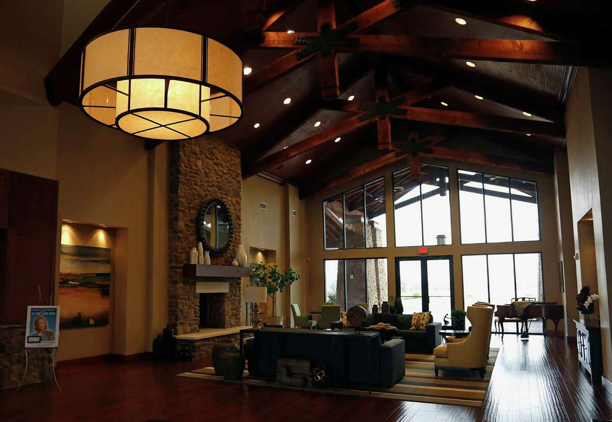 This amenities center is at Del Webb Sweetgrass in Richmond. Another Del Webb community is in the works for greater Houston.