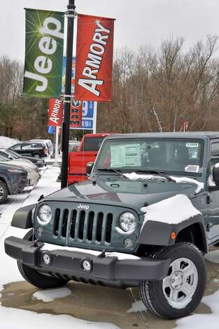 2015 Jeep Wrangler Sport 4X4 at Armory Garage Friday Jan. 9, 2015, in Albany, NY.  (John Carl D'Annibale / Times Union) Photo: John Carl D'Annibale / 00030132C