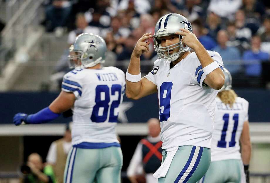 Tony Romo and Dallas were 8-0 on the road. Photo: Tony Gutierrez / Associated Press / AP