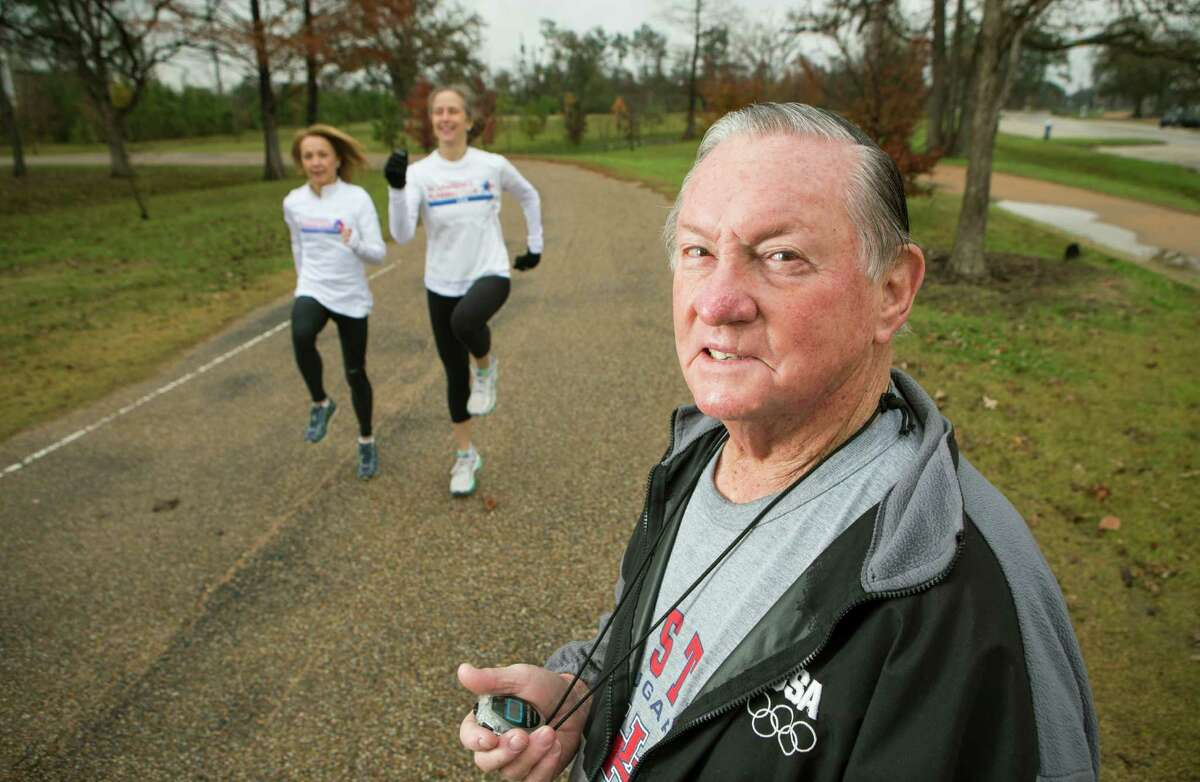 Al Lawrence, 84, the elder statesman of Houston runners, is happy to help train someone for a marathon, as long as that person is prepared and he or she knows their limitations when it comes to physical ability.