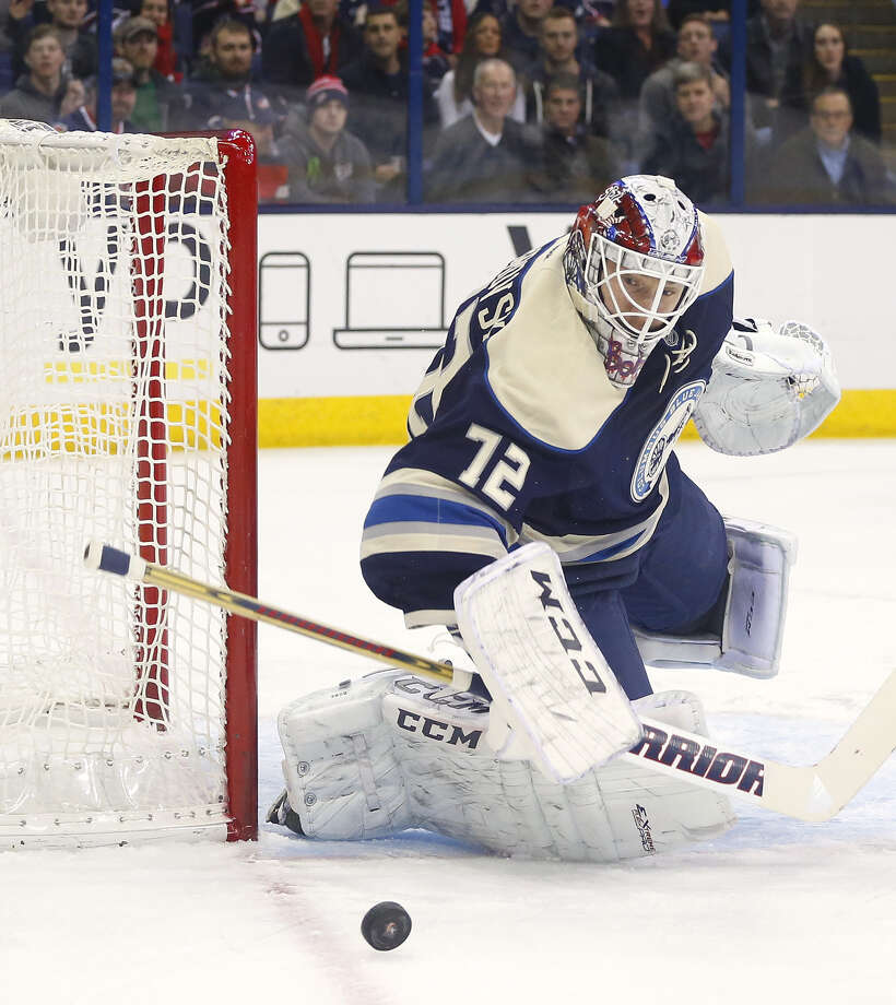Goalie Sergei Bobrovsky is among three Blue Jackets players picked for the All-Star Game, which will be played in Columbus on Jan. 25. Photo: Mike Munden / Associated Press / FR57028 AP