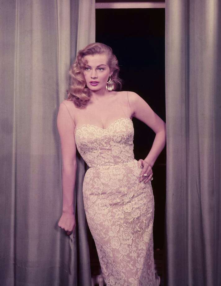 (FILE PHOTO) Swedish actress Anita Ekberg known for her role in the 1960 movie La Dolce Vita has died in Rome today after a series of illnesses. circa 1955:  The Swedish actress Anita Ekberg, known as 'The Iceberg'.  (Photo by Hulton Archive/Getty Images) Photo: Hulton Archive / Getty Images / Hulton Archive
