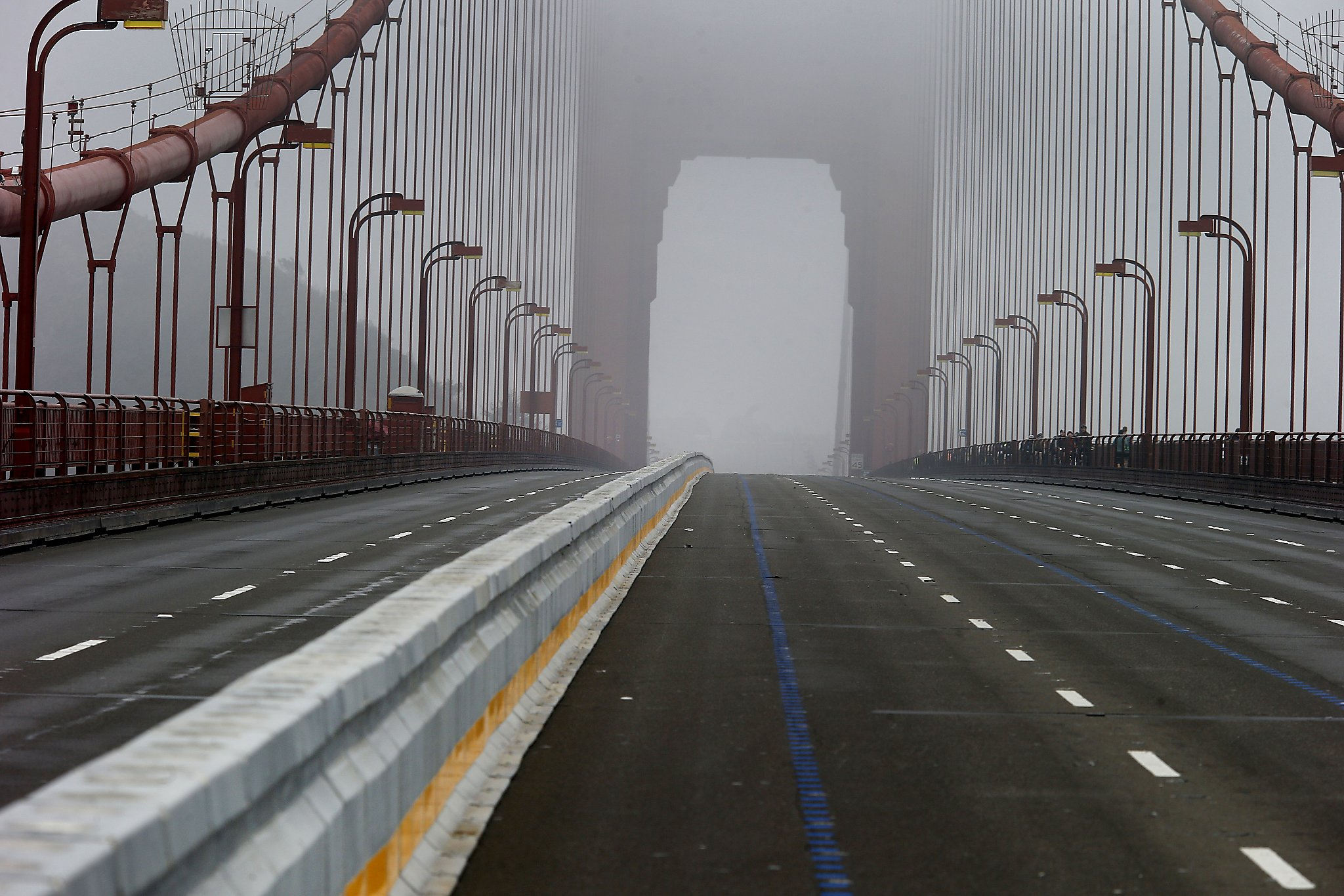 Golden Gate Bridge lane changes to greet commuters in new ...