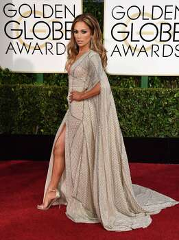 Jennifer Lopez arrives at the 72nd annual Golden Globe Awards at the Beverly Hilton Hotel on Sunday, Jan. 11, 2015, in Beverly Hills, Calif. (Photo by Jordan Strauss/Invision/AP) Photo: Jordan Strauss, AP Photo / Invision