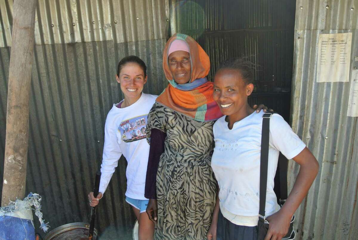 One of the 22 countries Becky Wade visited was Ethiopia, of which she was especially fond and where she stayed for about two months.