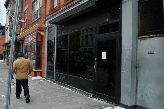 A view of Kokopellis nightclub, located at 124 Fourth Street, on Sunday, Jan. 11, 2015, in Troy, N.Y.  (Paul Buckowski / Times Union) Photo: Paul Buckowski / 00030158A