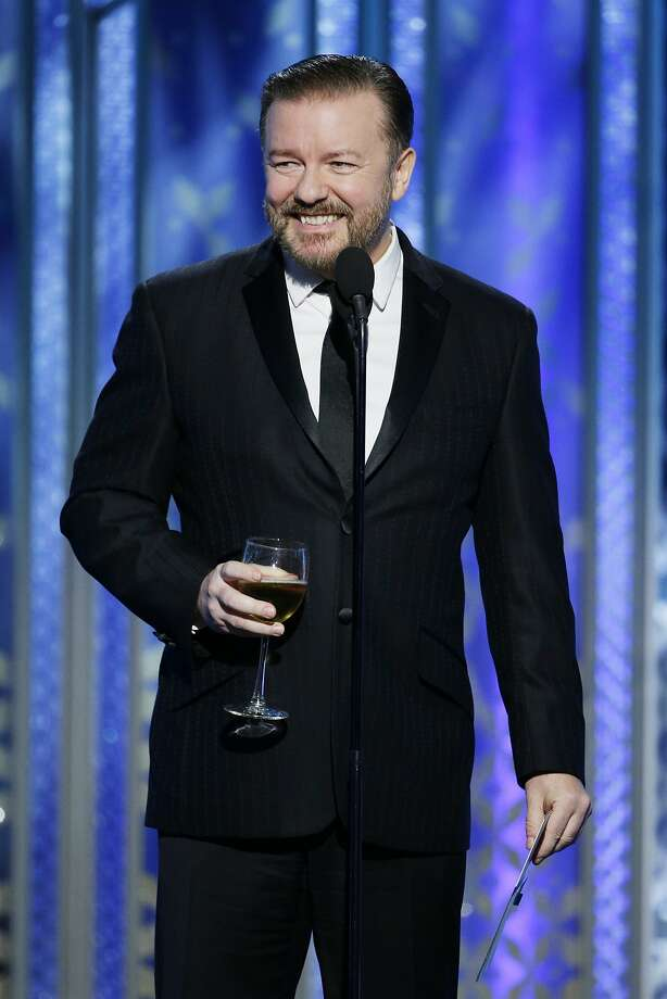 Ricky Gervais is back hosting the 2016 Golden Globes. Photo: Handout, Getty Images