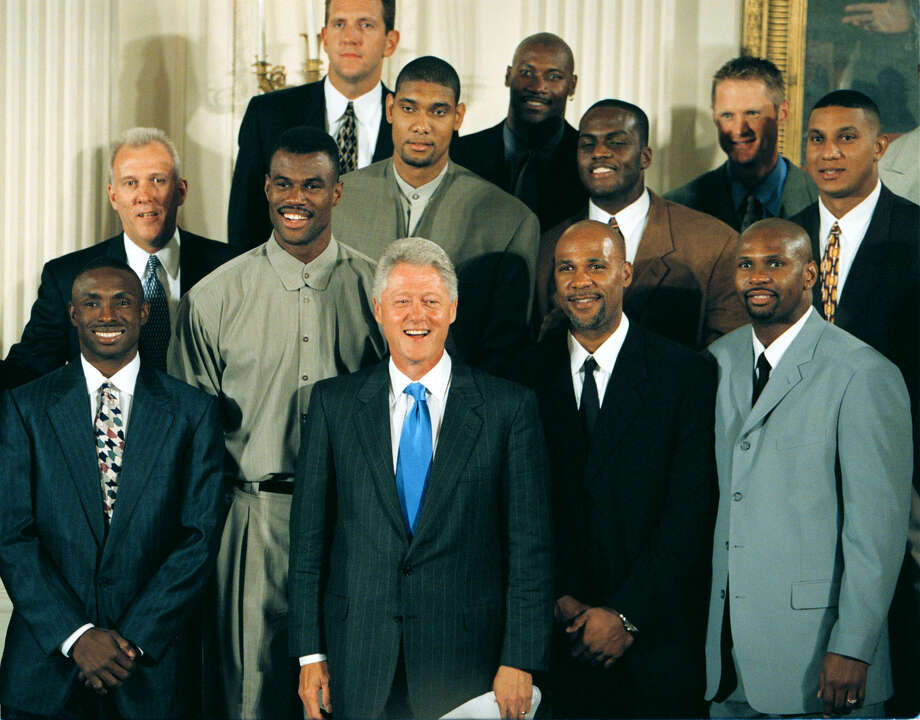 Image result for spurs white house 2007
