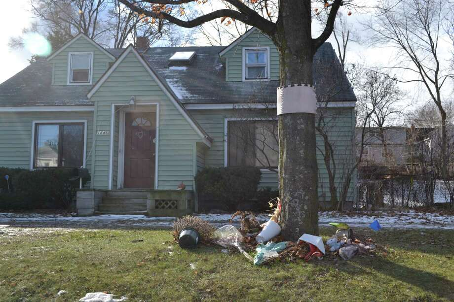 Oct. 8, 2014 a family of four was found dead in their 1846 Western Ave. home. The home has since been cleared of evidence, police said. (Keshia Clukey/ Times Union)