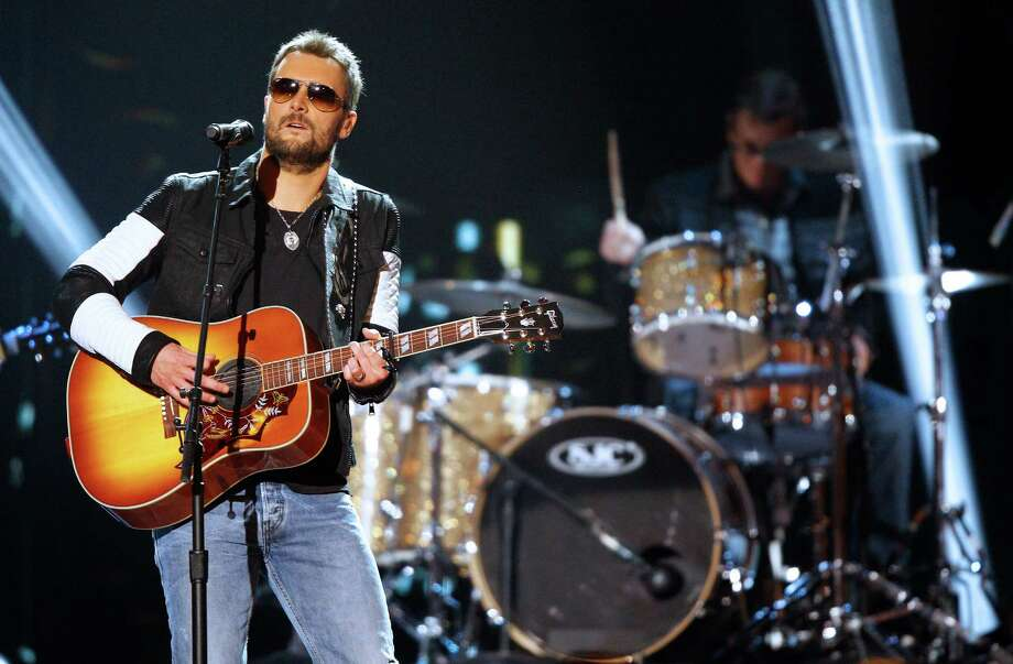 RodeoHouston March 3: Eric Church. His outlaw image doesn't seem to be a front. Photo: Wade Payne, INVL / Invision
