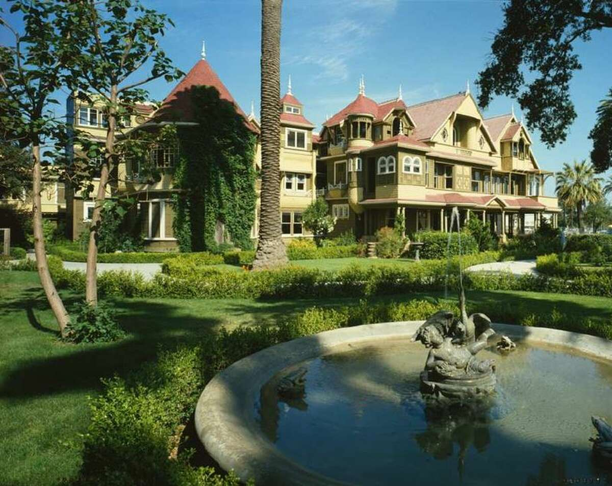 The Winchester Mystery House is a miasma of confusion, with doors opening on to brick walls and stairs to nowhere. Photo: WikiCommons/user: Gentgeen