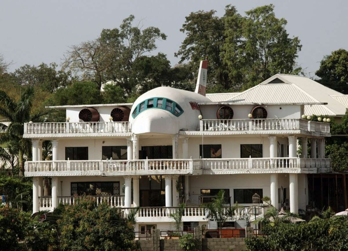 For the aviation enthusiast is this home in Abuja, Nigeria. Photo: Business Insider/REUTERS/Goran Tomasevic