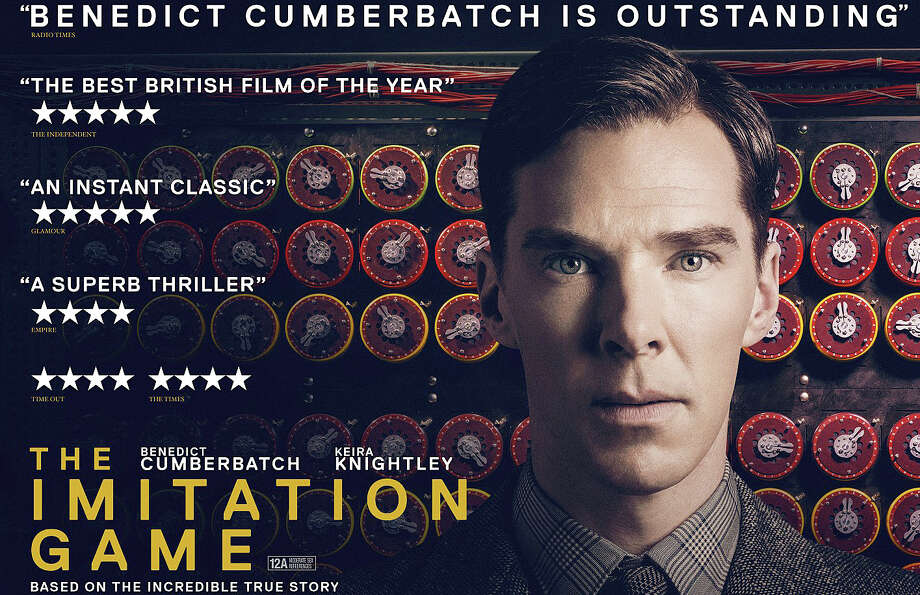 "Benedict Cumberbatch stars in ""The Imitation Game,"" the story of Alan Turing who helped the British crack the Germans' World War II codes and, in the process, developed the first computing device. Photo: Contributed Photo / Westport News"