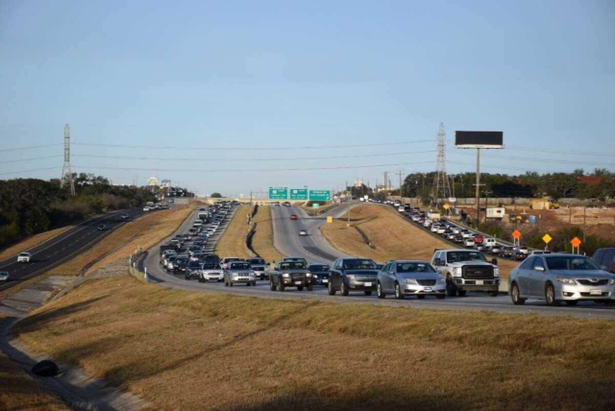 3. Loop 1604 after 4 p.m. All it takes is one small accident to turn this San Antonio road into a parking lot..