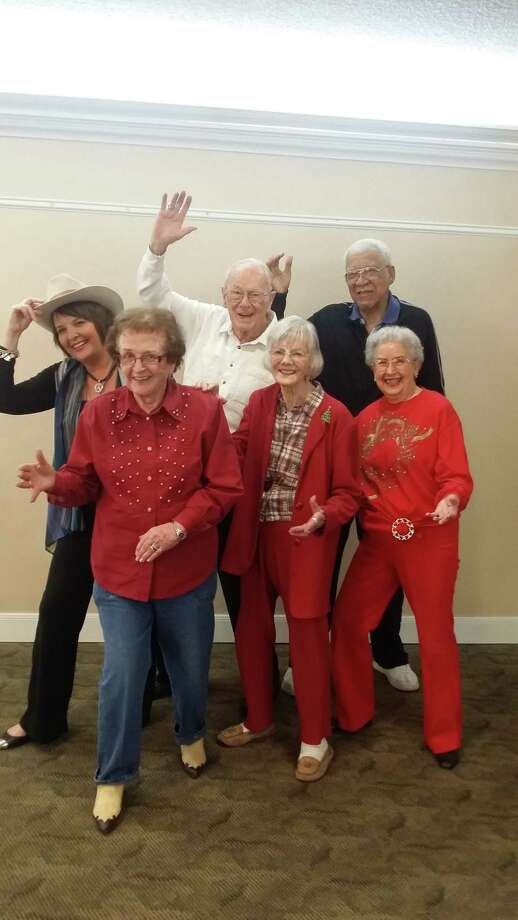 Residents enjoy moving and grooving at Brazos Towers at Bayou Manor.
