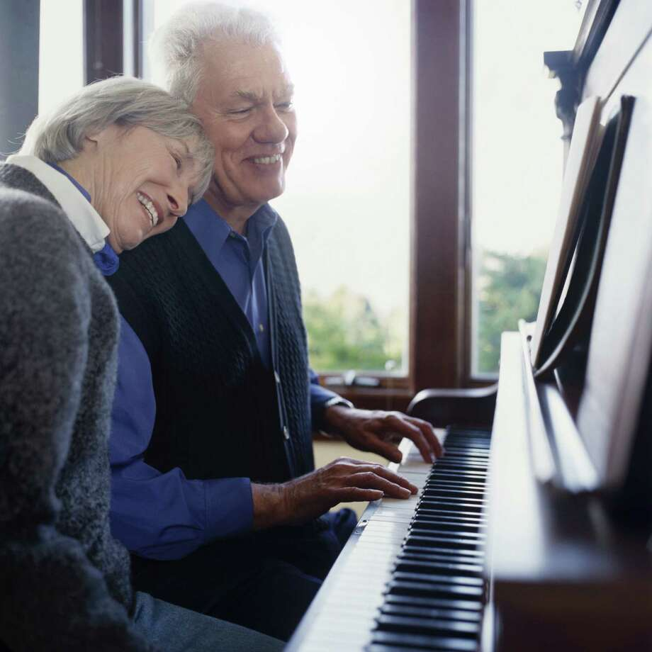 According to www.music2spark.com, the benefits of listening to music based on studies on music and its relation to older adults have demonstrated remarkable psychological benefits. / (c) Chad Baker/Jason Reed/Ryan McVay